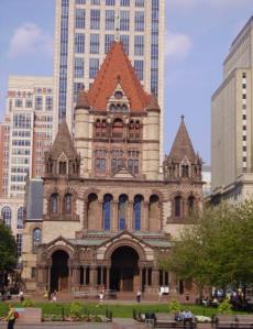 Trinity Church in Copley Square, 1872-1877