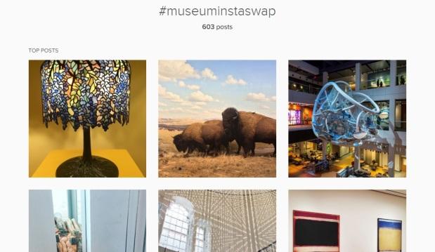 Museum Insta Swap Top Posts