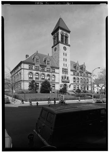 Cambridge City Hall HABS