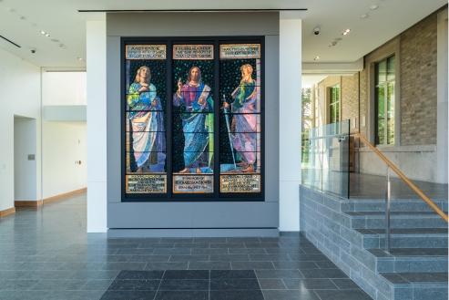 LaFarge Windows, McMullen Museum of Art, Brighton Campus, Boston College.
