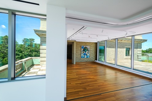 New McMullen Museum spaces at 2101 Commonwealth Avenue, on Brighton Campus.
