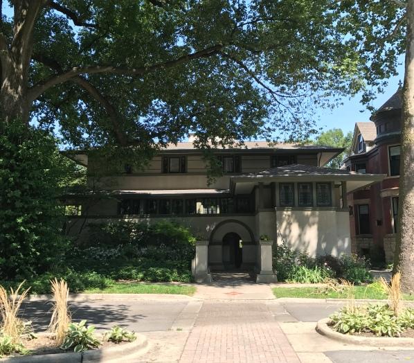 Frank W. Thomas House, 1901, Oak Park (2)