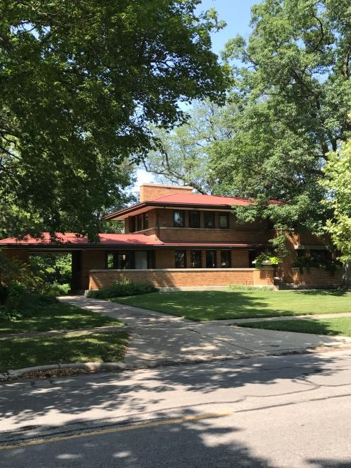 Harry S. Adams House, 1913, Oak Park (1)