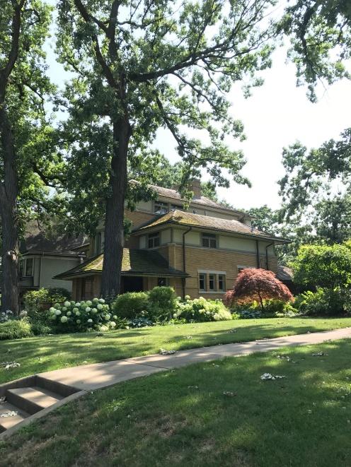 Rollin Furbeck House, 1897, Oak Park (2)