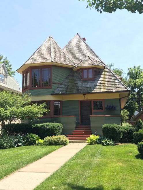 Thomas H. Gale House, 1892, Oak Park (1)