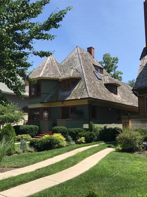 Thomas H. Gale House, 1892, Oak Park (2)