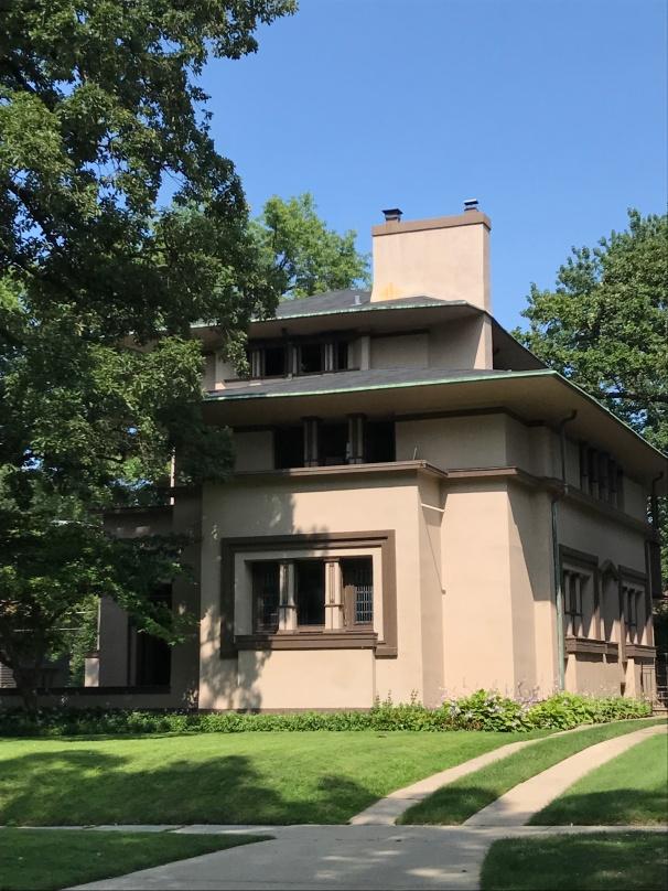 William G. Fricke House, 1901, Oak Park (1)
