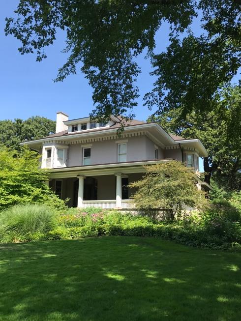 William H. Copeland House, remodeling by FLW 1909, Oak Park