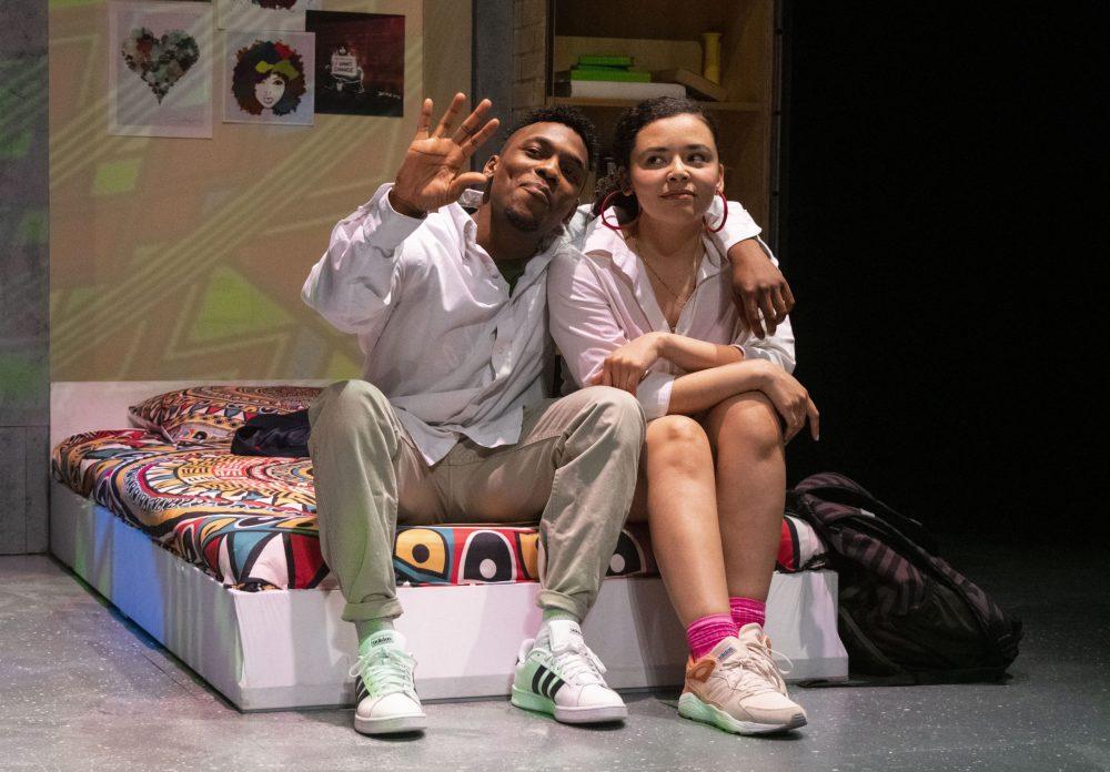 Omari and Jasmine